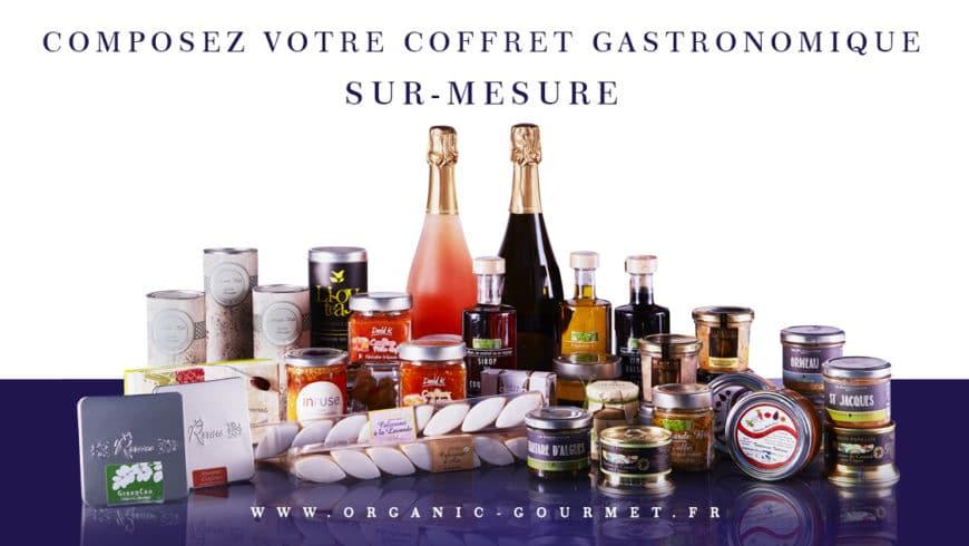Personnalisez votre coffret gastronomique BIO