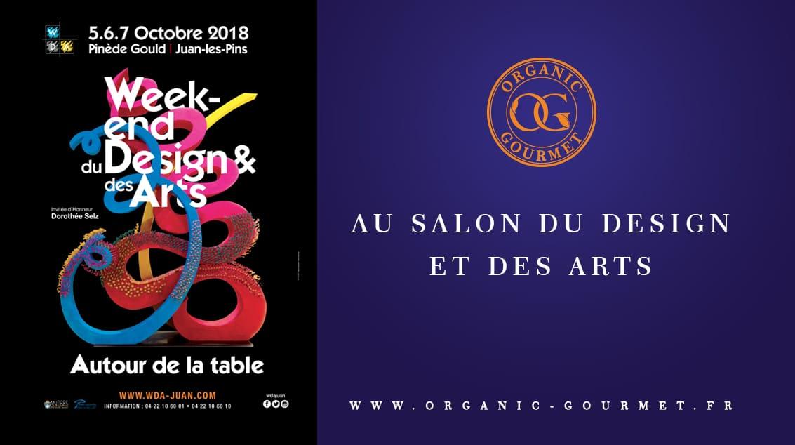 Organic Gourmet au salon du Design et des Arts